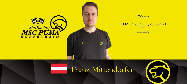 Herzlich Willkommen Franz
