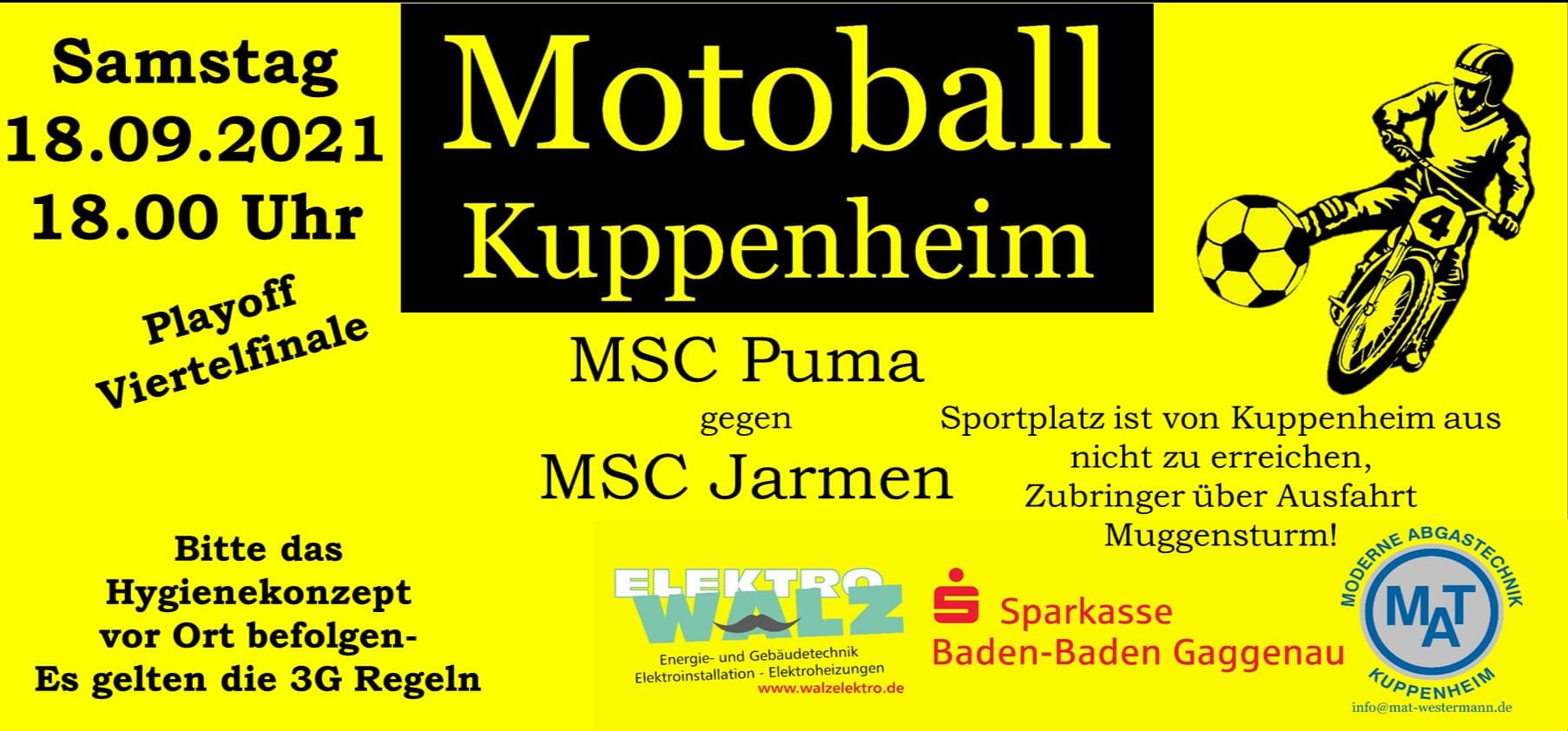 PlayOff 1/4 Finale Rückspiel: MSC Jarmen – MSC Puma