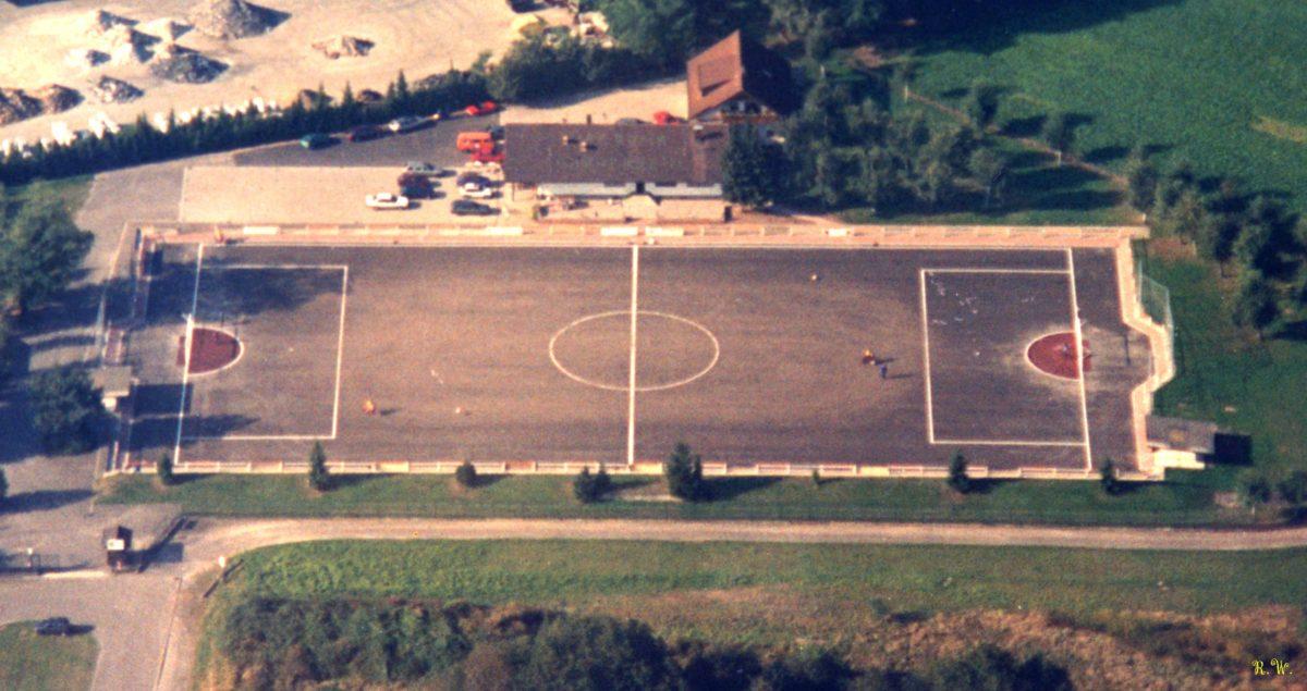 Motoballstadion an der Eichetstrasse - der Zeit voraus