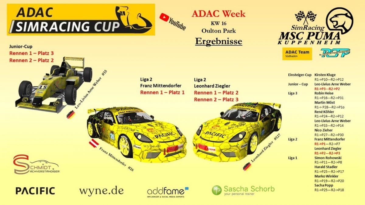 ADAC Sim Cup 2 NEU