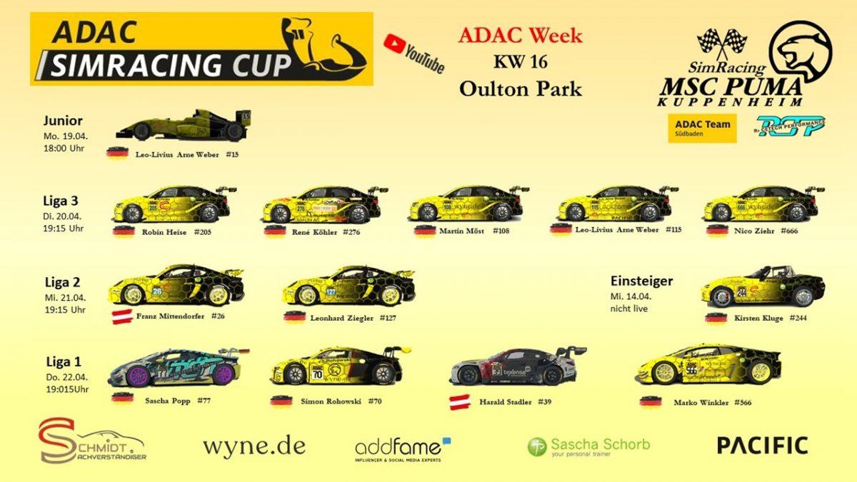 ADAC Sim Cup 2