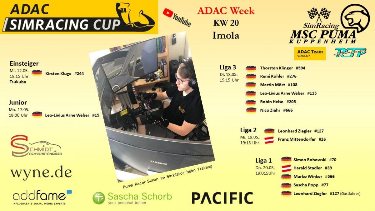 ADAC Sim Cup Titelbild Simon