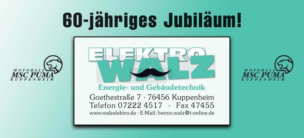 Elektro Walz Jubiläum