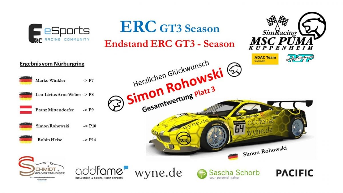Endstand ERC 1 26.03.